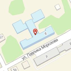 Школа №1, МБОУ, карта проезда